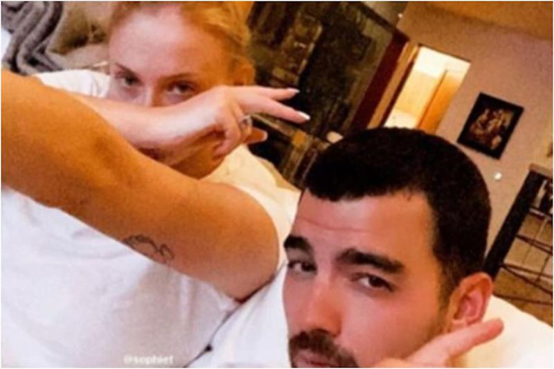 Sophie Turner, Joe Jonas Share Precautionary Coronavirus Message in First Pic Post Welcoming Baby Girl