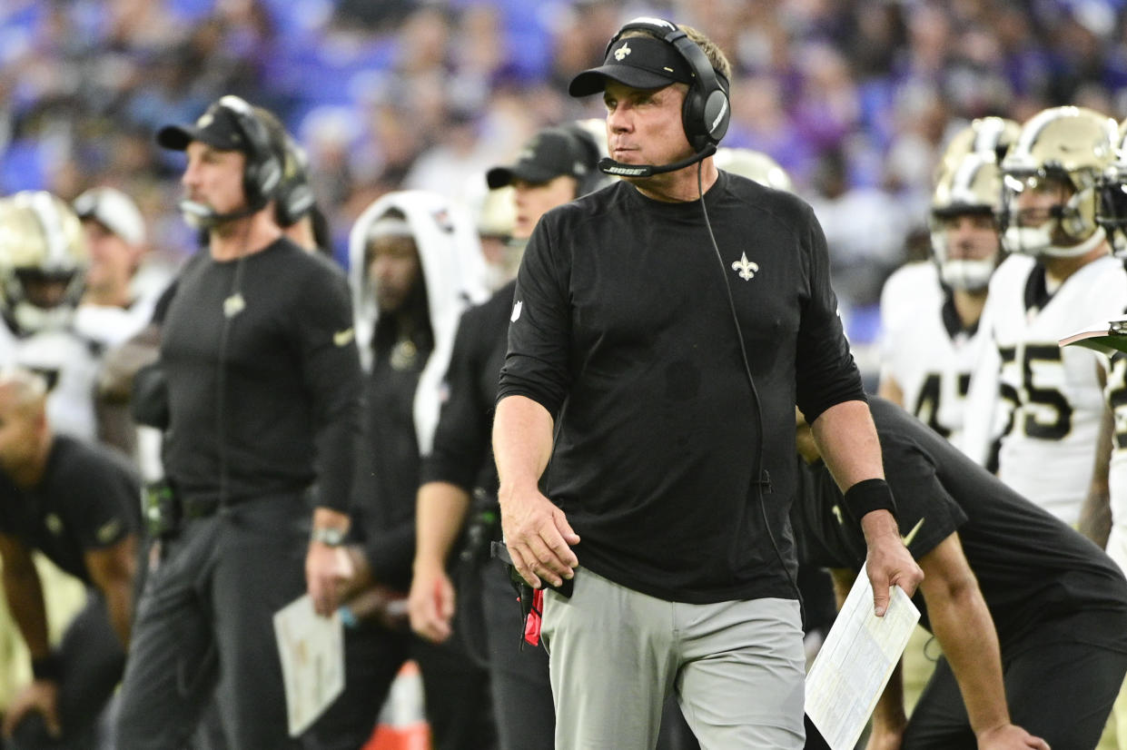 New Orleans Saints head coach Sean Payton has guided his team to the playoffs each of the last four seasons. (Tommy Gilligan/USA TODAY Sports)