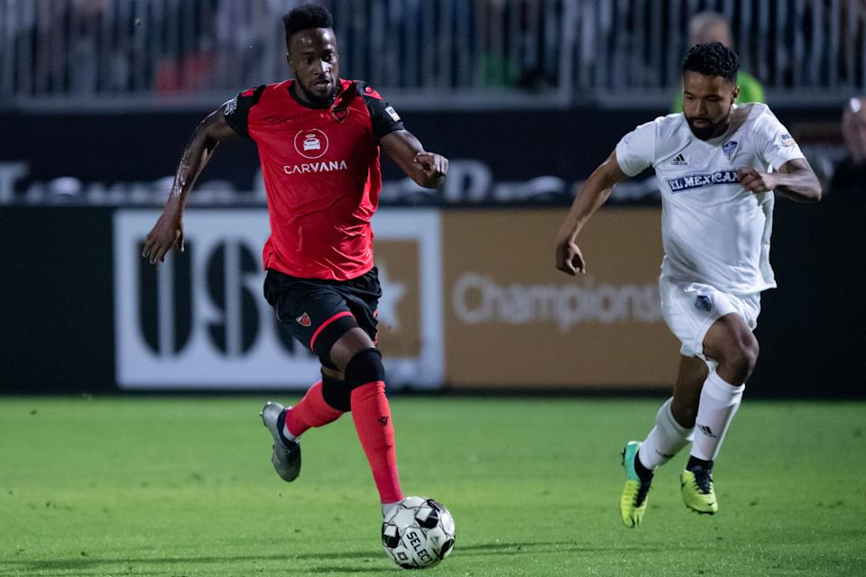 Junior Flemmings of Phoenix Rising FC