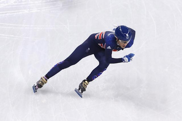 Elise Christie will have to break the world record to win gold she feels