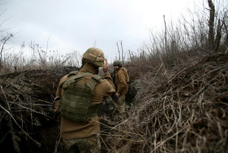 Ukraine says it is worried about a Russian military build-up along its frontier