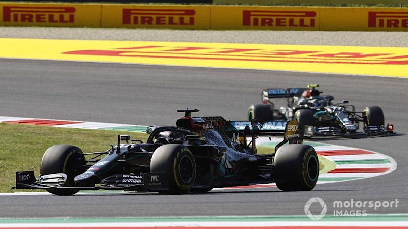 Lewis Hamilton at Tuscany GP 2020