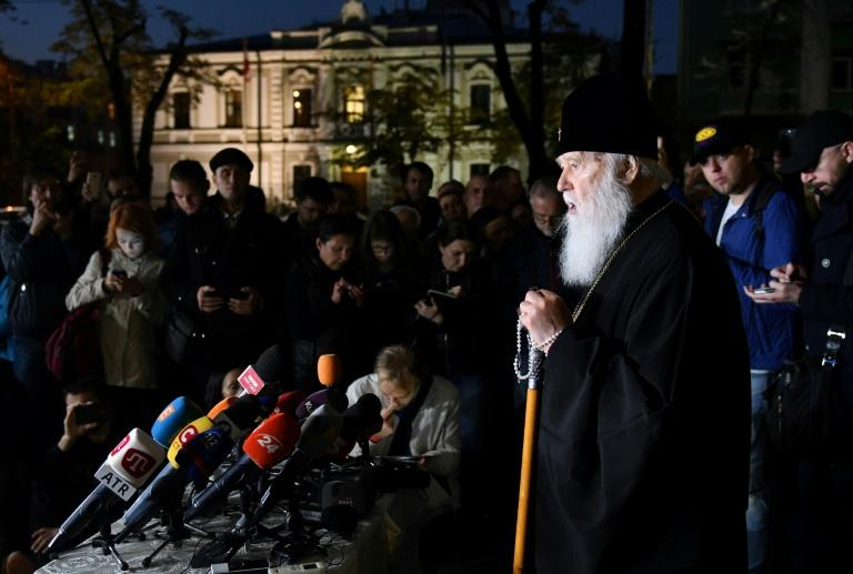Ukrainian Orthodox Church Patriarch Filaret insists he is ready, even at 89, to lead an independent unified Ukrainian Orthodox Church, despite the prospect of stoking tension with Moscow