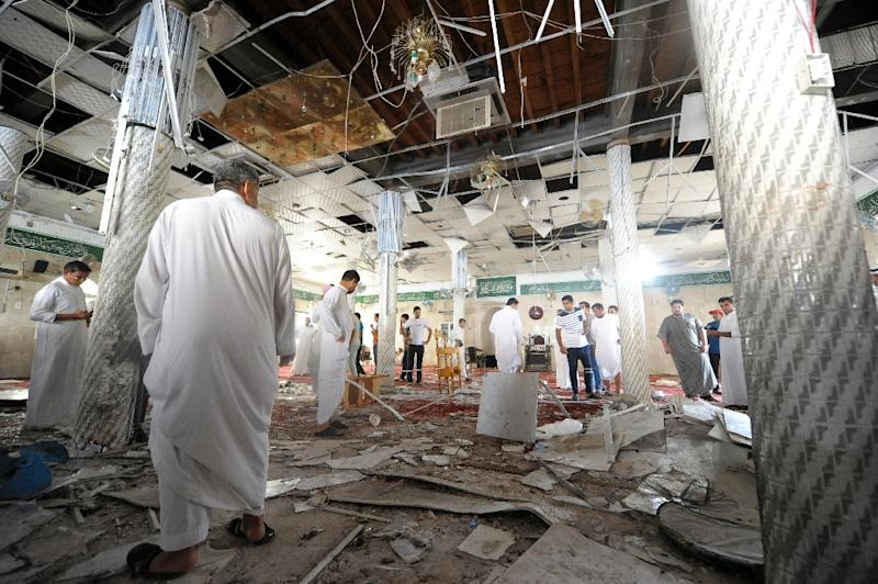 Security has been tightened at Saudi Shiite facilities after 25 people were killed in separate suicide mosque bombings in May 2015 (AFP Photo/Hussein Radwan)