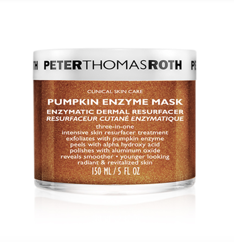 "<p><strong>Peter Thomas Roth</strong></p><p>dermstore.com</p><p><a href=""https://go.redirectingat.com?id=74968X1596630&url=https%3A%2F%2Fwww.dermstore.com%2Fproduct_Pumpkin%2BEnzyme%2BMask_64581.htm&sref=https%3A%2F%2Fwww.goodhousekeeping.com%2Flife%2Fmoney%2Fg33562912%2Fdermstore-anniversary-sale%2F"" rel=""nofollow noopener"" target=""_blank"" data-ylk=""slk:Shop Now"" class=""link rapid-noclick-resp"">Shop Now</a></p><p><em>Sale price $48<br>Originally $60</em> </p><p>Give yourself a professional-strength facial at-home with this sweet-smelling face mask that's filled with natural pumpkin extracts.<br></p>"