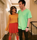 """<p>Gear up the van! Shaggy is ready to do some mystery solving with his P-I-C Velma. </p><p><a class=""""link rapid-noclick-resp"""" href=""""https://www.amazon.com/Mersi-Burgundy-Cosplay-Costume-Halloween/dp/B08JCBTYCF/?tag=syn-yahoo-20&ascsubtag=%5Bartid%7C10072.g.27868801%5Bsrc%7Cyahoo-us"""" rel=""""nofollow noopener"""" target=""""_blank"""" data-ylk=""""slk:SHOP VELMA WIG"""">SHOP VELMA WIG</a></p>"""