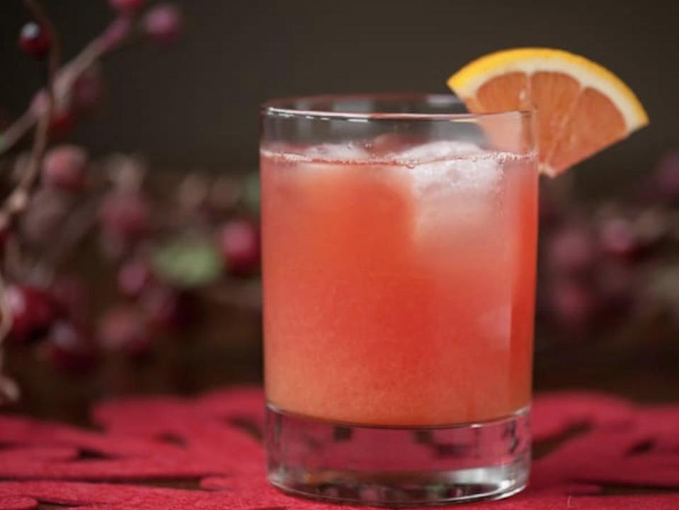 """<p>Wake up right with the help of a cranberry screwdriver. Cranberry vodka, freshly squeezed orange juice, and Grand Marnier is all you need for this Kansas favorite.</p> <p><strong>Get the recipe</strong>: <a href=""""https://www.popsugar.com/buy?url=https%3A%2F%2Fselfproclaimedfoodie.com%2Fcranberry-screwdriver%2F&p_name=cranberry%20screwdriver&retailer=selfproclaimedfoodie.com&evar1=yum%3Aus&evar9=47471653&evar98=https%3A%2F%2Fwww.popsugar.com%2Ffood%2Fphoto-gallery%2F47471653%2Fimage%2F47474235%2FKansas-Screwdriver&list1=cocktails%2Cdrinks%2Calcohol%2Crecipes&prop13=api&pdata=1"""" class=""""link rapid-noclick-resp"""" rel=""""nofollow noopener"""" target=""""_blank"""" data-ylk=""""slk:cranberry screwdriver"""">cranberry screwdriver</a></p>"""