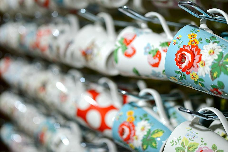 Cath Kidston designed mugsGetty for Cath Kidston