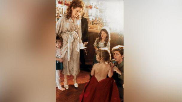 PHOTO: Joely Fisher watches as Carrie Fisher, kneeling, helps dress her daughter, Billie Lourd. (Courtesy Joely Fisher)