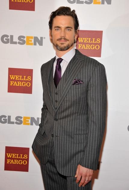 Matt Bomer arrives at the 8th annual GSLEN Respect Awards at Beverly Hills Hotel on October 5, 2012 in Beverly Hills, Calif. -- Getty Images