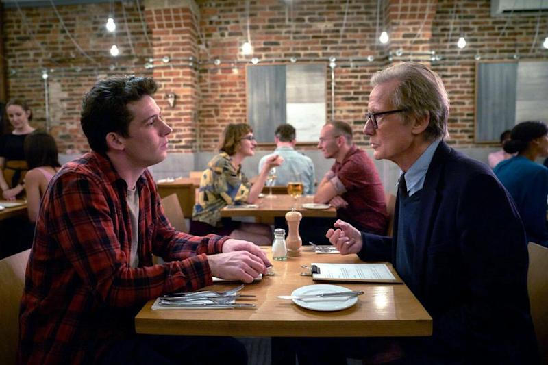 Josh O'Connor is Jamie, the son who is forced to mediate when his father (Bill Nighy) reveals his plans to end the marriage.