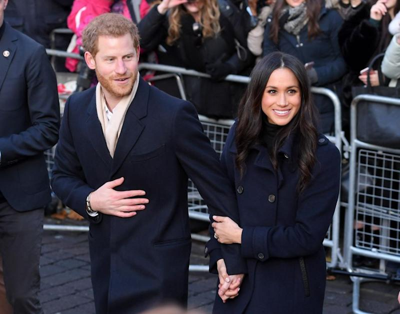 Could Harry and Meghan be setting a new PDA protocol? Photo: Getty