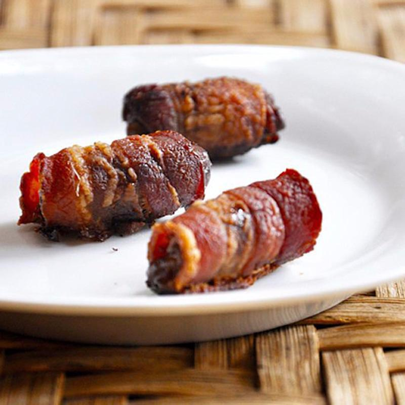 Bacon-Wrapped Dates Are the Easiest 2-Ingredient App