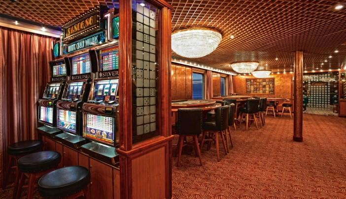 <p>Wait, there's a casino on Team USA's cruise ship? Uh-oh. (silversea.com) </p>