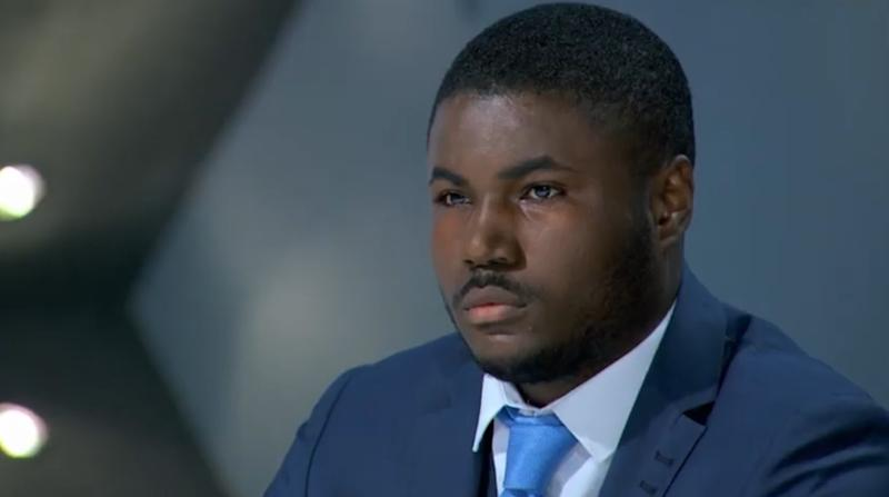 Fired 'The Apprentice' candidate Souleyman Bah has accused BBC producers of failing to intervene when he experience racism on the BBC show (BBC)