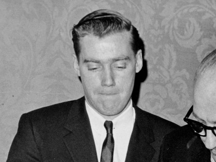 Mary Trump's father, Fred Trump Jr., is pictured in 1966.