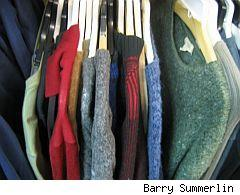 Thrift shop sweaters