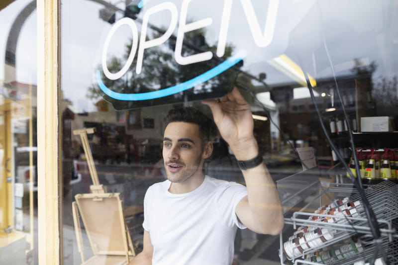 Thinking of starting a business in 2020? Here's everything you need to know. Source: Getty