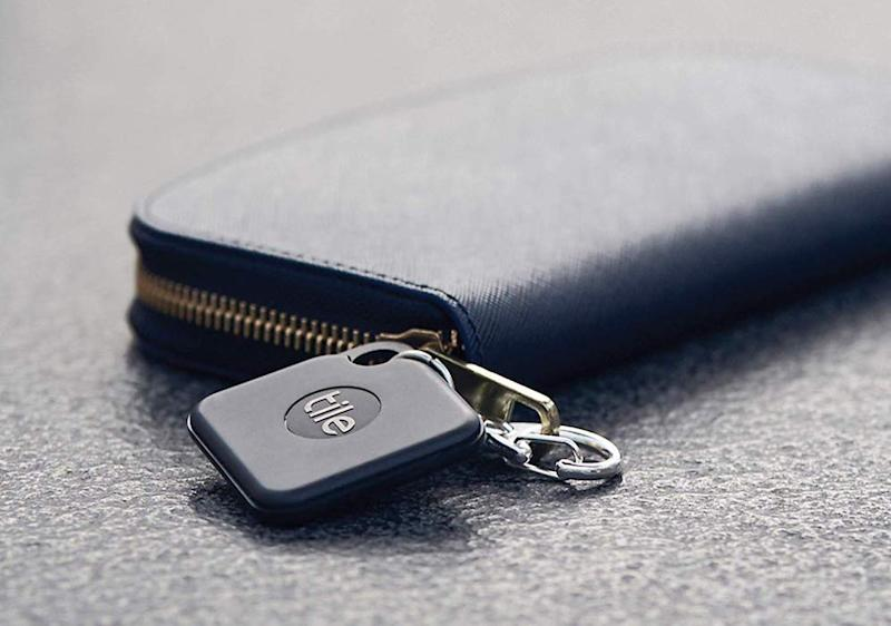 Your wallet is under the watchful eye of a Tile Tracker. (Photo: Amazon)