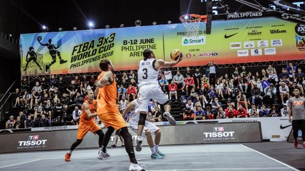 Some of world's best 3x3 basketball players in Edmonton for tournament
