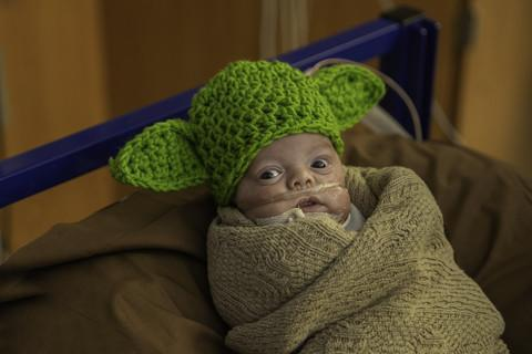 NICU babies at Baylor Scott & White Health in Texas were given the Star Wars treatment. (Photo: Courtesy of Baylor Scott & White Health)