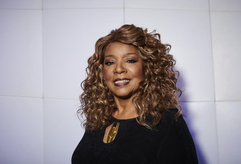 "This Dec. 18, 2019 photo shows singer Gloria Gaynor posing for a portrait in New York. Gaynor, who had the iconic disco hit song ""I Will Survive"" in 1980, is nominated for Grammy Awards for best roots gospel album for ""Testimony"" and best gospel performance for ""Talking About Jesus."" (Photo by Matt Licari/Invision/AP)"