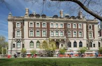 """<p>America's only museum dedicated solely to design has been a branch of the Smithsonian since the 1960s. It now has a collection of more than 210,000 design objects that span 240 years, all housed in industrialist Andrew Carnegie's former mansion on the Upper East Side. The Cooper Hewitt remains temporarily closed, though you can stay updated on their reopening plans <a href=""""https://www.cooperhewitt.org/visit/plan-your-visit/"""" rel=""""nofollow noopener"""" target=""""_blank"""" data-ylk=""""slk:here"""" class=""""link rapid-noclick-resp"""">here</a>.</p>"""