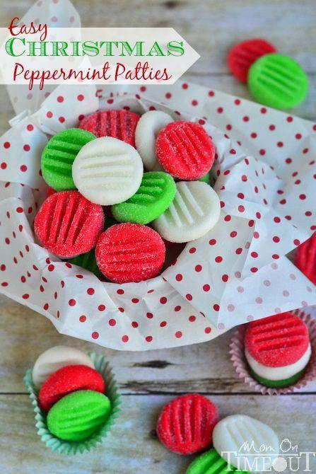 """<p>Not blessed with culinary skills? These easy, no-bake candies can be made with just six ingredients.</p><p><strong>Get the recipe at <a href=""""http://www.momontimeout.com/2013/12/easy-christmas-peppermint-patties/"""" rel=""""nofollow noopener"""" target=""""_blank"""" data-ylk=""""slk:Mom On Timeout"""" class=""""link rapid-noclick-resp"""">Mom On Timeout</a>.</strong> </p>"""