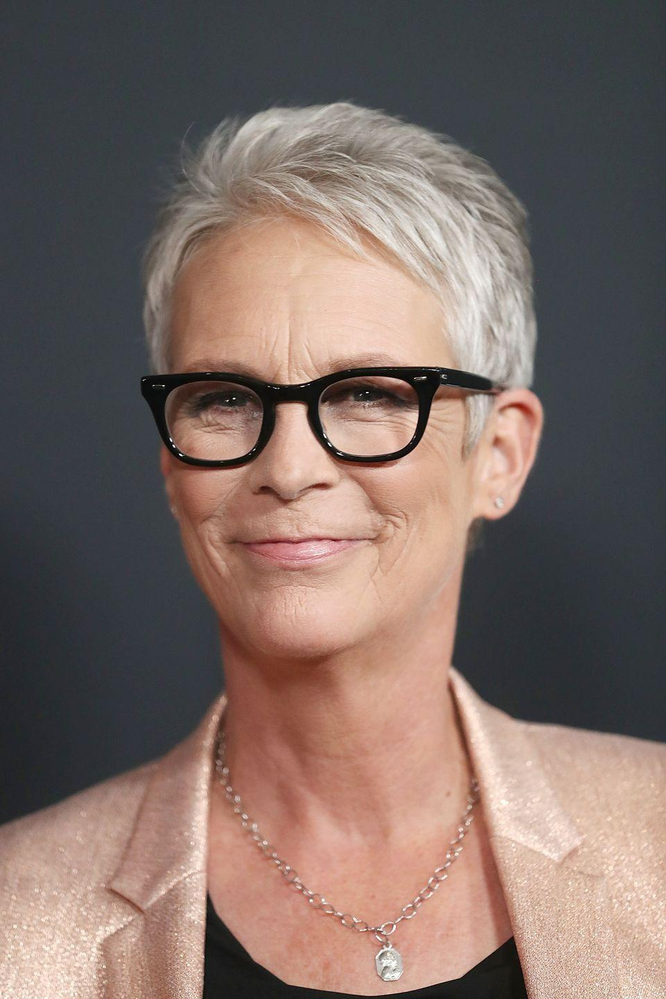 <p>For silver hair like<strong> Jamie Lee Curtis</strong>, ask your colorist for a cool toner or gloss to neutralize any brassiness. Or try a cool-toned gloss, which also enhances shine and dimension. </p>