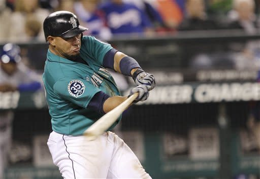 Mariners beat short-handed Rangers 6-3