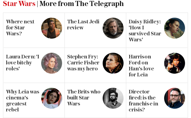 Star Wars | More from The Telegraph