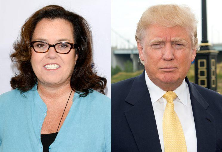 Rosie O'Donnell continues to be one of Donald Trump's biggest critics, but things just took a more personal turn. (Photo: Getty Images)