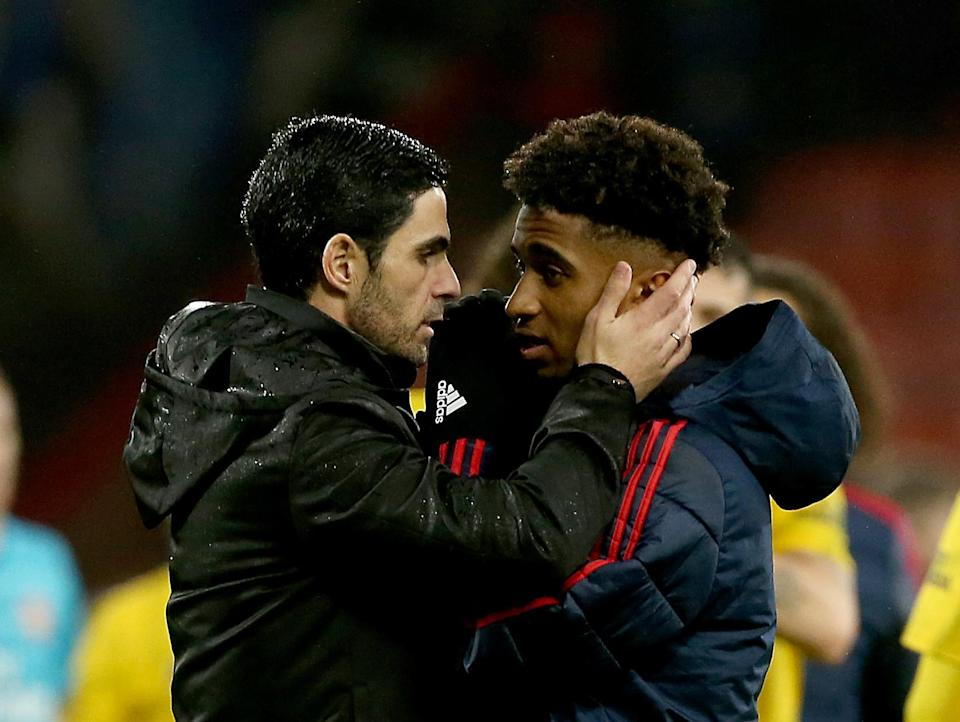 Arteta insists Nelson will get his chance.