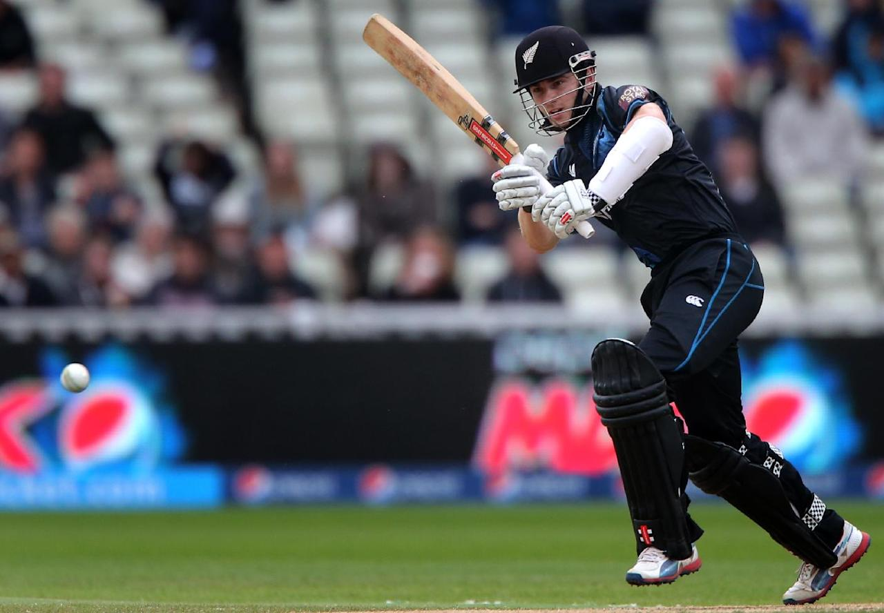 New Zealand batsman Kane Williamson during the ICC Champions Trophy match at Edgbaston, Birmingham.