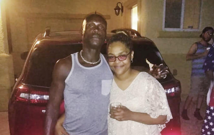 Byron Williams, 50, with his daughter, Kelly Williams. (Courtesy of Jeffery Thompkins)