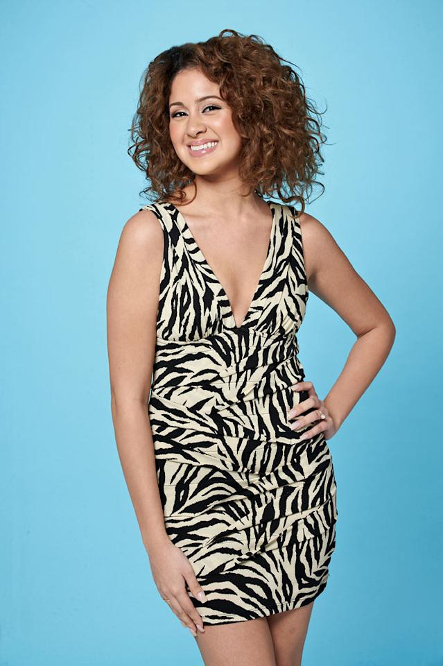 """Karen Rodriguez, 21, from New York, NY competes on the tenth season of """"American Idol."""""""