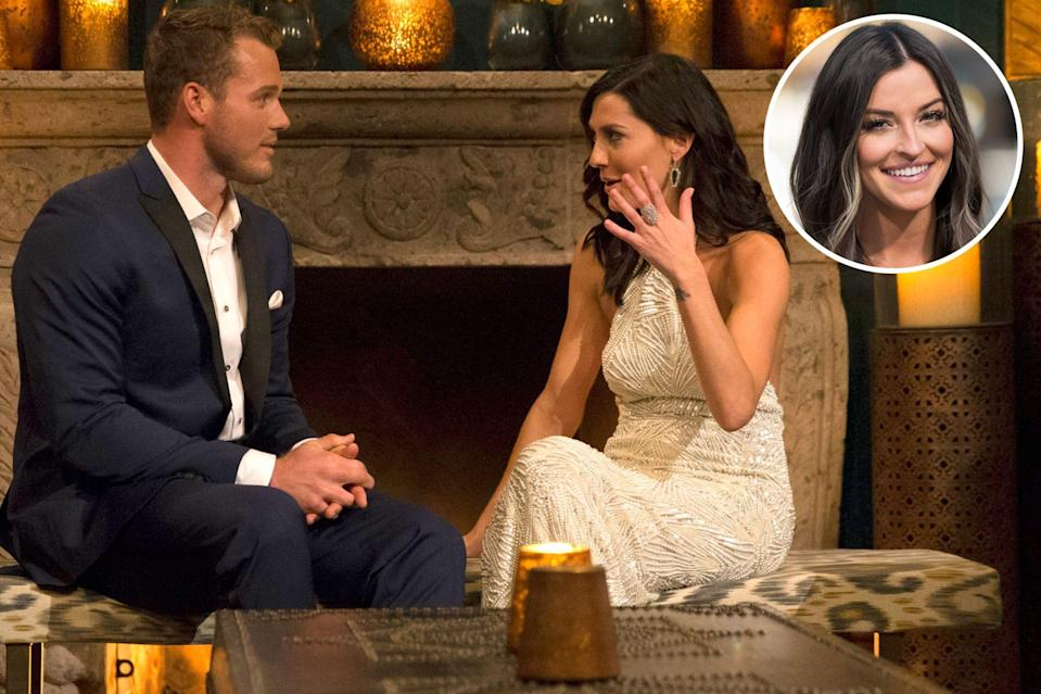 """<p>Former football player Colton Underwood first made waves as a <em>Bachelorette</em> contestant on <a href=""""https://people.com/tag/becca-kufrin/"""" rel=""""nofollow noopener"""" target=""""_blank"""" data-ylk=""""slk:Becca Kufrin"""" class=""""link rapid-noclick-resp"""">Becca Kufrin</a>'s season in 2018. Underwood found himself in <a href=""""https://people.com/tv/becca-kufrin-defends-tia-booth-critics-feelings-colton-underwood-bachelorette/"""" rel=""""nofollow noopener"""" target=""""_blank"""" data-ylk=""""slk:a love triangle"""" class=""""link rapid-noclick-resp"""">a love triangle</a> between Kufrin and her friend and fellow former <em>Bachelor </em>contestant <a href=""""https://people.com/tag/tia-booth/"""" rel=""""nofollow noopener"""" target=""""_blank"""" data-ylk=""""slk:Tia Booth"""" class=""""link rapid-noclick-resp"""">Tia Booth</a> before confessing on the show that <a href=""""https://people.com/tv/bachelorette-colton-underwood-doesnt-regret-revealing-virginity/"""" rel=""""nofollow noopener"""" target=""""_blank"""" data-ylk=""""slk:he was a virgin"""" class=""""link rapid-noclick-resp"""">he was a virgin</a>.</p> <p>Although he had not planned to reveal something that was so personal to him, Underwood said he had no regrets and credited the show for allowing him to """"be true to who I am and it allowed me to grow as a person."""" </p> <p>""""I couldn't be more appreciative of that,"""" he said of his experience on the popular franchise.</p>"""