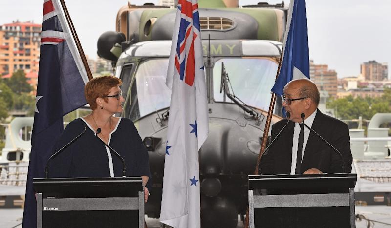 Australia inks mega deal to buy French subs