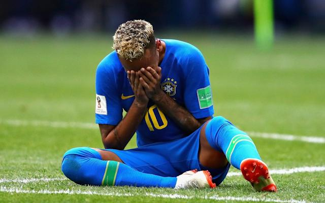 """Neymar's melodramatic display in Brazil's win over Costa Rica was defended by his captain, Thiago Silva, who said the team's superstar wept at the end because he has """"worked so hard"""" to return from injury. """"He was crying on the pitch. I told him to get it all out, because he's been carrying a lot of weight,"""" Thiago said, """"It's not easy to go three months without playing, but people don't understand that. They keep criticising, hammering him. He's got great character, because it's not everyone who takes on the responsibility he has today. """"He deserved his goal and we deserved the win. I think he has [been criticised]. It's tough for us to fight against those who have the microphone. We try and respond on the pitch, playing as well as possible, and dedicating ourselves on the training ground. That kid has worked so hard to get here. It's only the second time he's played 90 minutes after three months out, so of course he's feeling it."""" Argentina's heavy defeat to Croatia was a warning to Brazil, who used it to inspire their own win over Costa Rica the next day, according to Willian, the Chelsea midfielder. """"I think what happened on Thursday night in the Argentina game helped us to come to this game more concentrated, more focused to win this game,"""" Willian said after stoppage time goals by Philippe Coutinho and Neymar gave the tournament favourites their first win in Russia. """"We will be like that now until the end of the World Cup. We have to be ready because the games will not be easy. To win in this way is very emotional."""" Big brand 