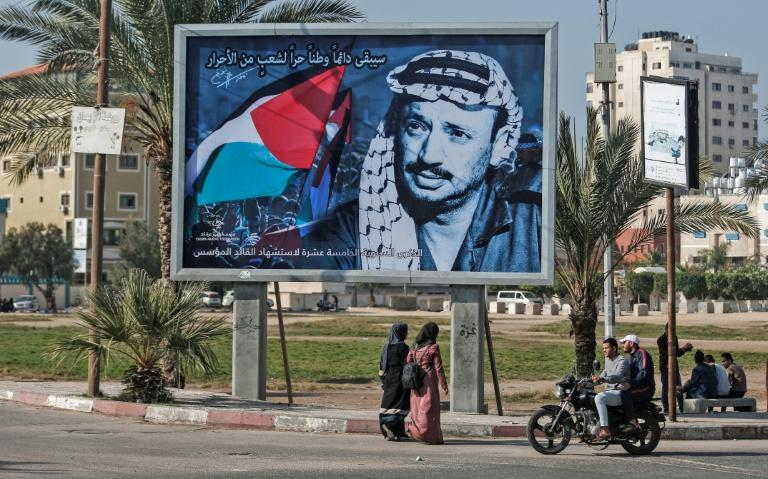 Yasser Arafat died on November 11, 2004 at a hospital near Paris from unknown causes at the age of 75