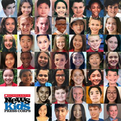 d09cebfcbd82 45 Kid Reporters Join the 2018-19 Scholastic News Kids Press Corps