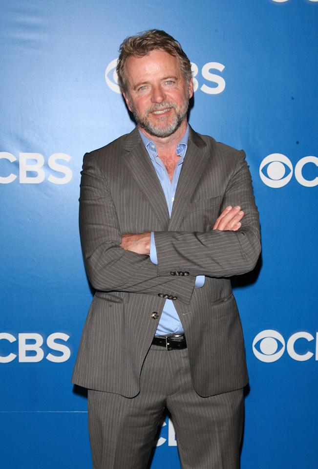"Aidan Quinn (""Elementary"") attends CBS's 2012 Upfront Presentation on May 16, 2012 in New York City."