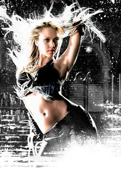 "Jessica Alba in ""Sin City."""
