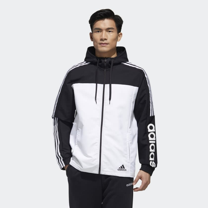 Essentials Windbreaker. Image via Adidas.