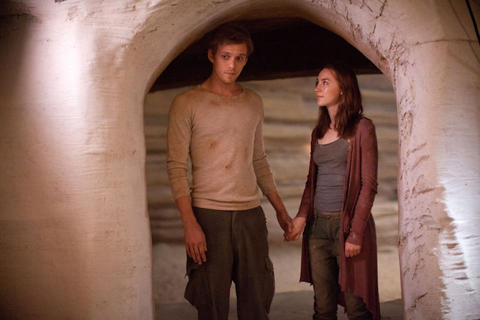 "Jake Abel and Saoirse Ronan in Open Road Films' ""The Host"" - 2013"
