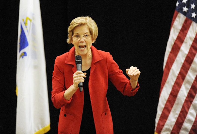 "Democratic Senator ELizabeth Warren had a DNA test after President Donald Trump mocked her as ""Pocahontas"" for claiming Native American heritage, but her actions were met with fury from Cherokee representatives (AFP Photo/Joseph PREZIOSO)"