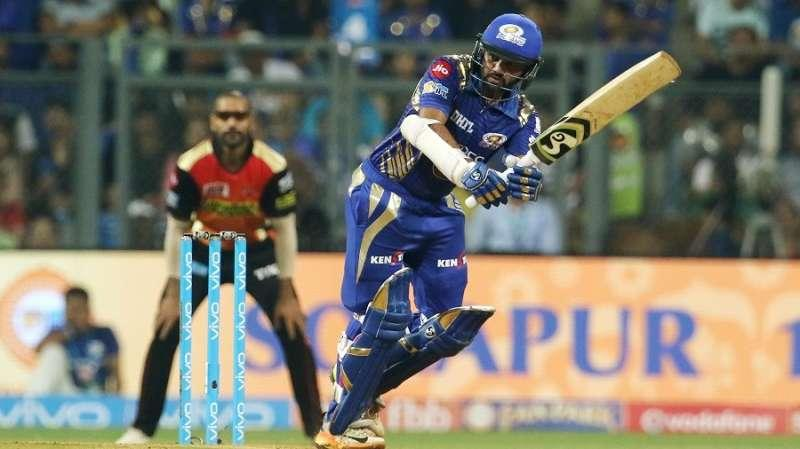 Parthiv Patel Mumbai Indians Sunrisers Hyderabad