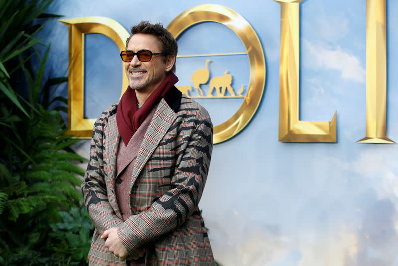 """FILE PHOTO: Special screening of """"Dolittle"""" in London"""