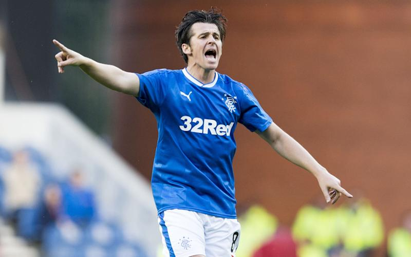Barton playing for Rangers a - Credit: Rex
