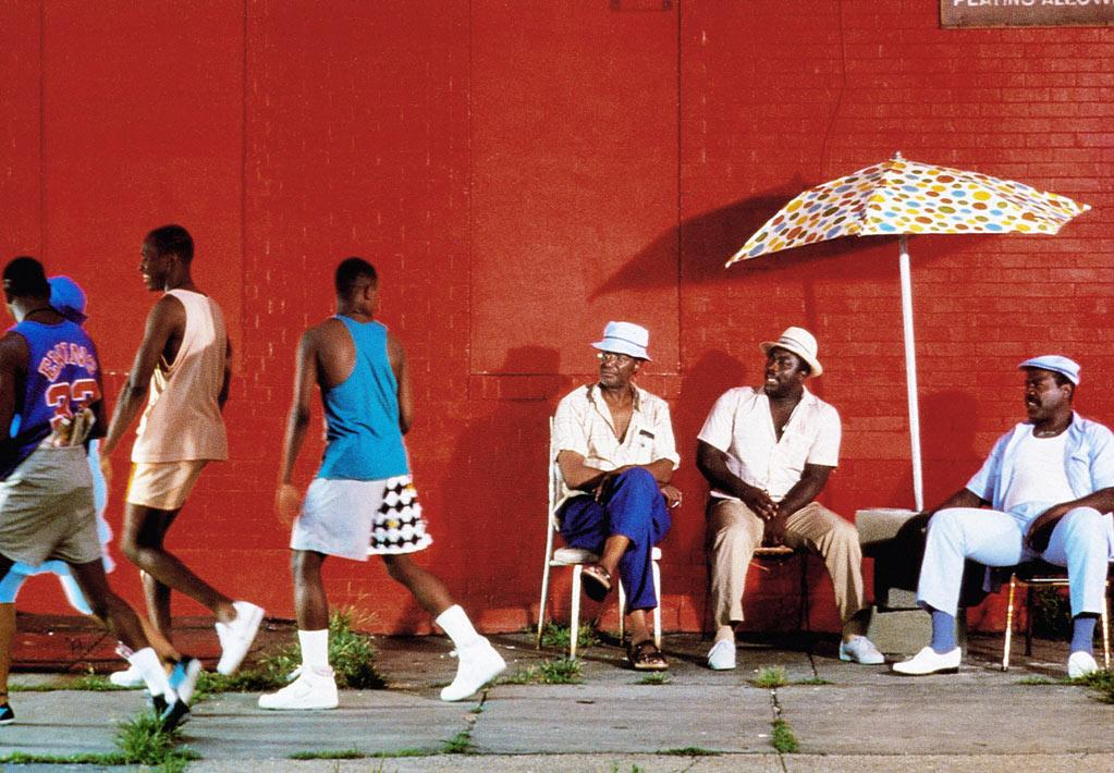 """""""<a href=""""http://movies.yahoo.com/movie/do-the-right-thing/"""">Do the Right Thing</a>"""" (1989): Not the most upbeat or feel-good of examples, granted. But it simply radiates heat, from the record-setting, sweltering Brooklyn day on which it takes place to the tension that builds between residents of various ethnicities to the flames that engulf the neighborhood pizza joint in a climactic, riotous frenzy. This is still one of Spike Lee's best films, easily — an expert blend of style and substance, of sharp writing and colorful characters. To this day, I can't hear Public Enemy's """"Fight the Power"""" without thinking of its significant use here.<br><br>Think of any other examples? Share them with AP Movie Critic Christy Lemire through Twitter: http://twitter.com/christylemire. <br><br>Online: You can see the many inspired responses Matt Singer got to his survey about the perfect summer movie at http://blogs.indiewire.com/criticwire/the-criticwire-survey-the-perfect-summer-movie ."""
